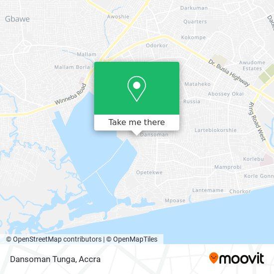 Dansoman Tunga map
