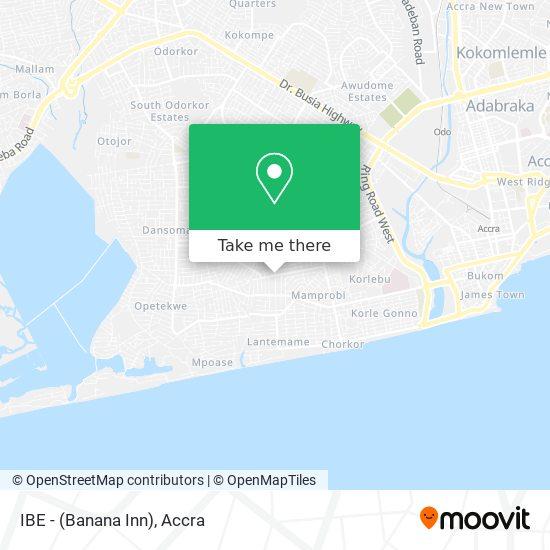 IBE - (Banana Inn) map