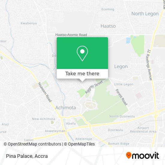 Pina Palace map