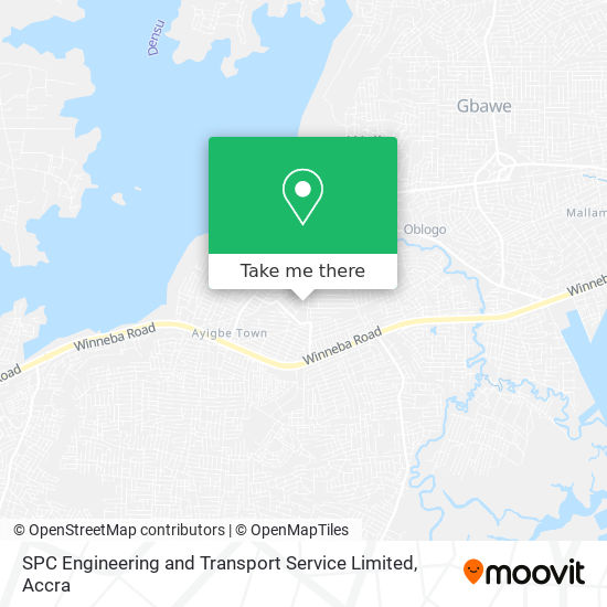 SPC Engineering and Transport Service Limited map