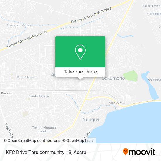 KFC Drive Thru community 18 map