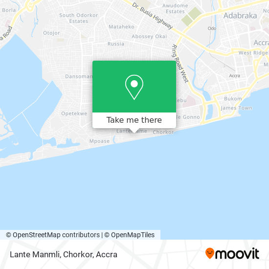 Lante Manmli, Chorkor map