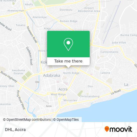 DHL map