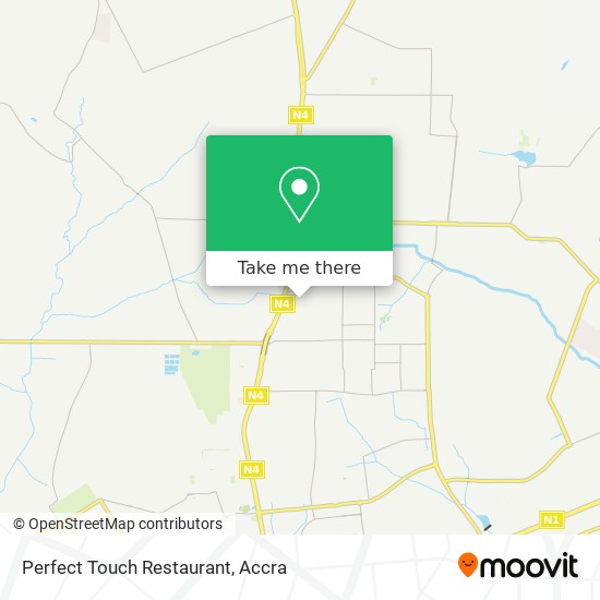 Perfect Touch Restaurant map