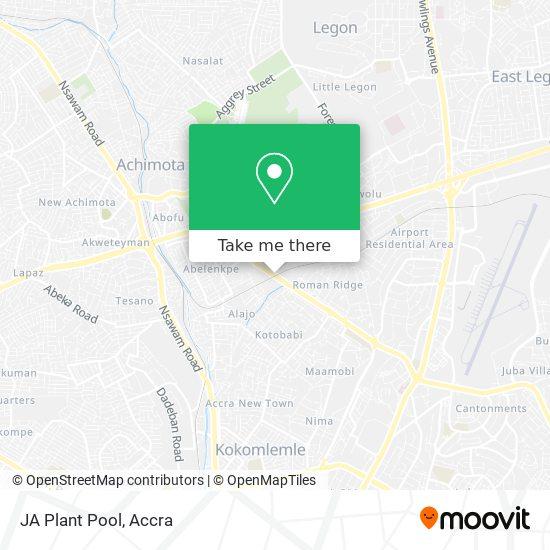 JA Plant Pool map