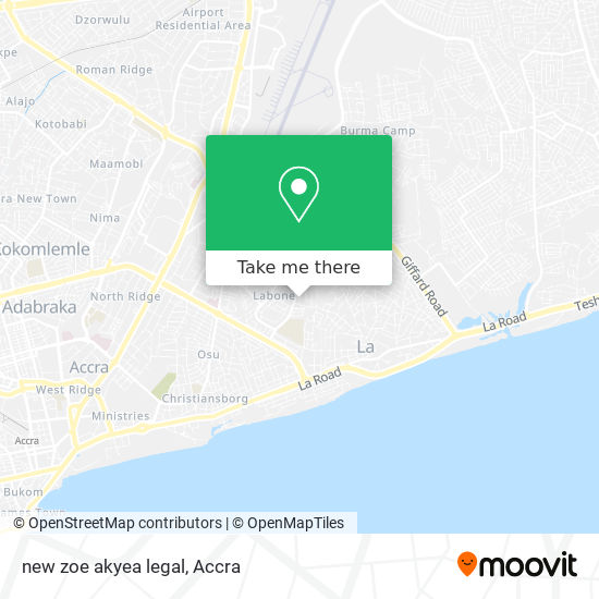 new zoe akyea legal map