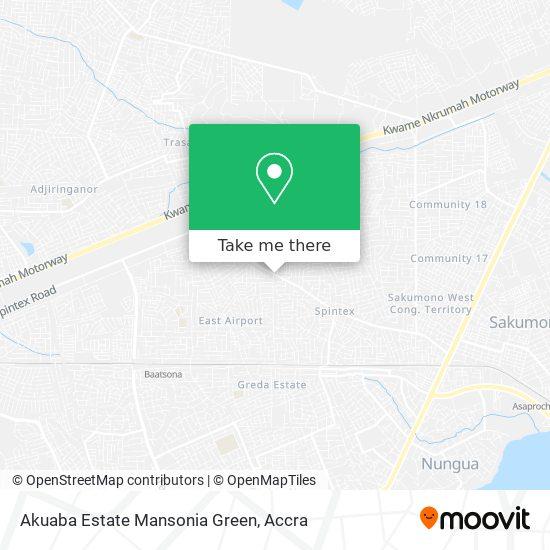 Akuaba Estate Mansonia Green map