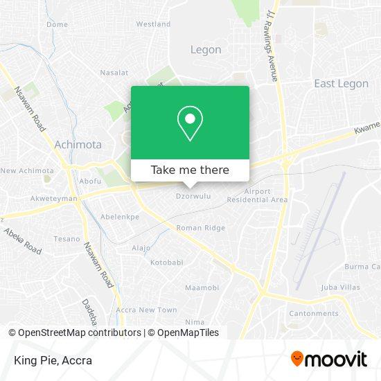 King Pie map