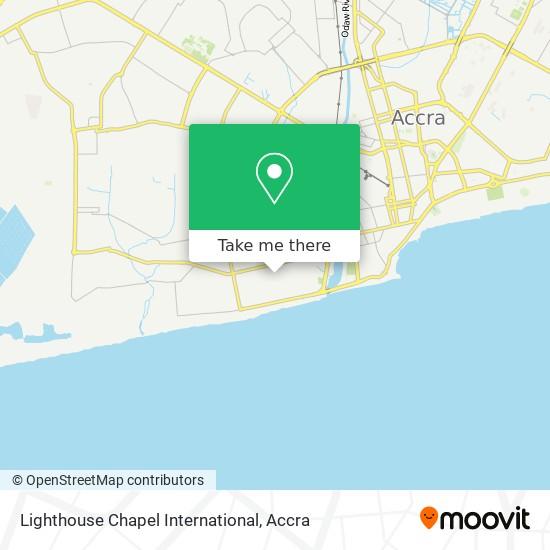 Lighthouse Chapel International map
