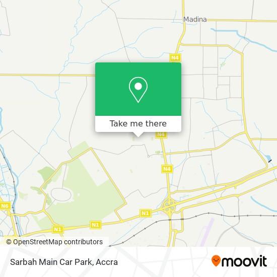 Sarbah Main Car Park map