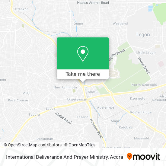 International Deliverance And Prayer Ministry map