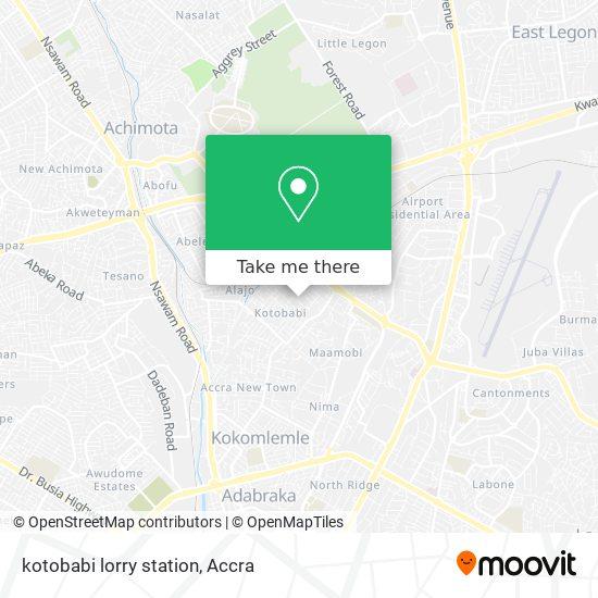 kotobabi lorry station map