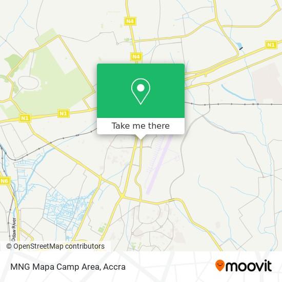 MNG Mapa Camp Area map