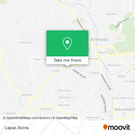 Lapaz map