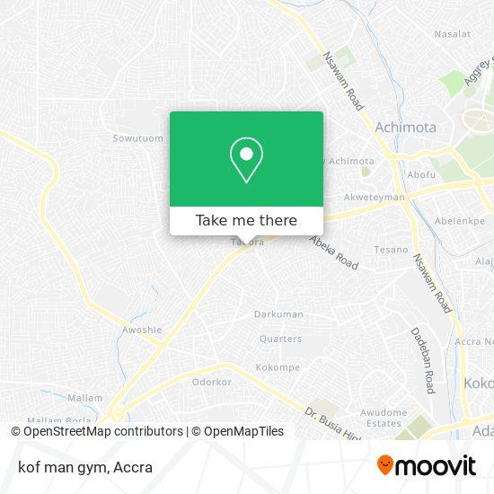 kof man gym map