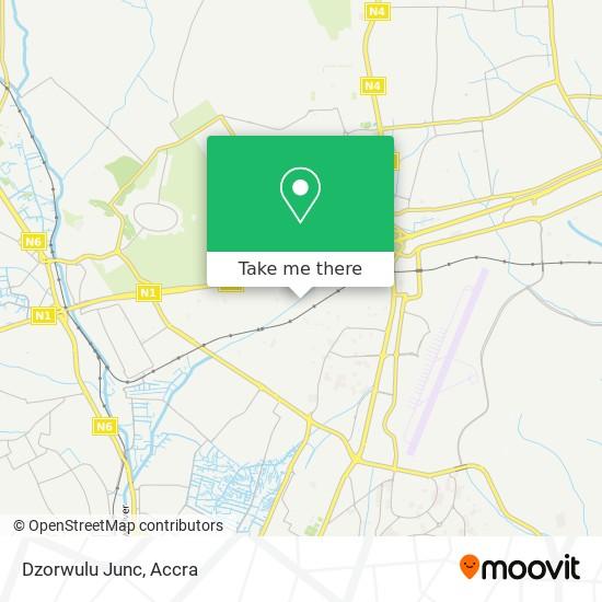 Dzorwulu Junc map