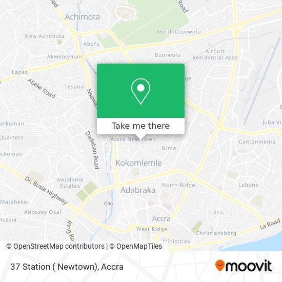 37 Station ( Newtown) map