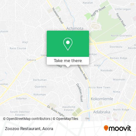 Zoozoo Restaurant map