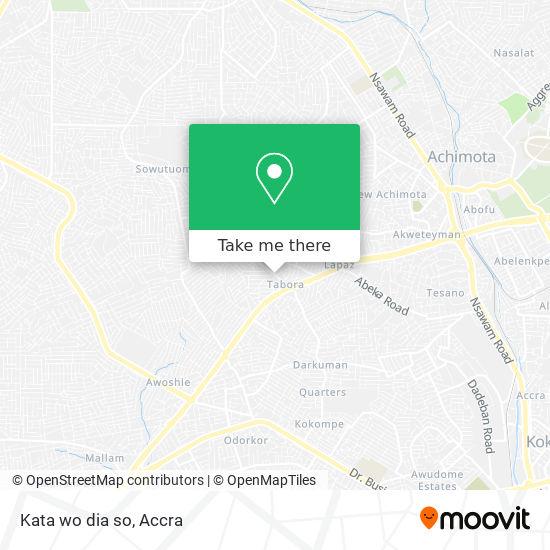 Kata wo dia so map