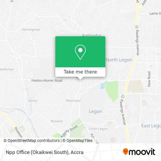 Npp Office (Okaikwei South) map