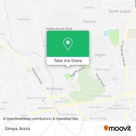 Gimpa map