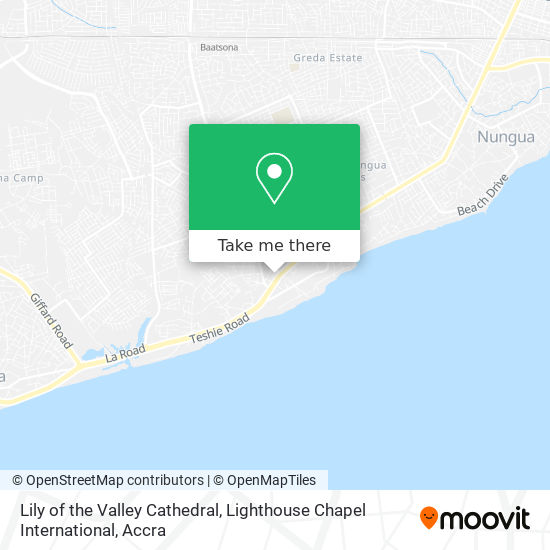 Lily of the Valley Cathedral, Lighthouse Chapel International map