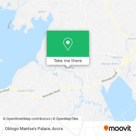 Oblogo Mantse's Palace map