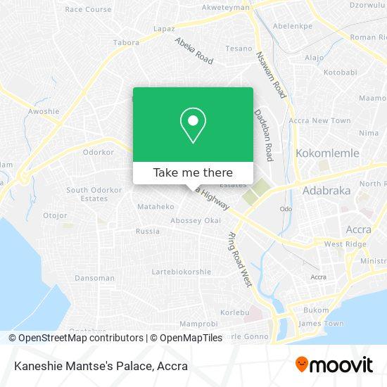 Kaneshie Mantse's Palace map