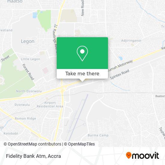 Fidelity Bank Atm map