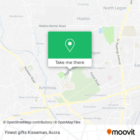 Finest gifts Kisseman map