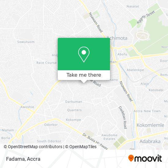 Fadama map