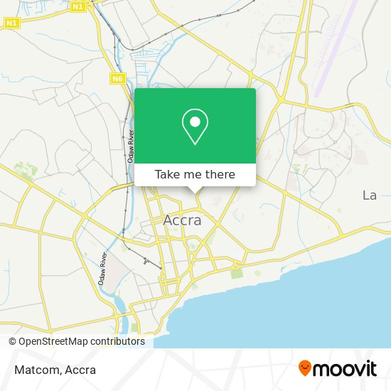 Matcom map