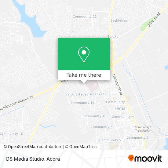 DS Media Studio map