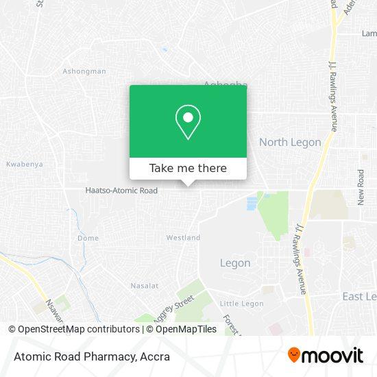 Atomic Road Pharmacy map