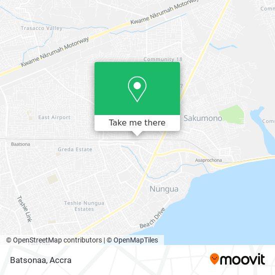 Batsonaa map