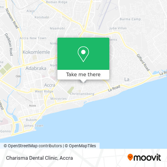 Charisma Dental Clinic map