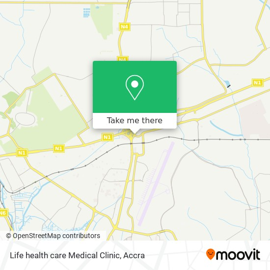 Life health care Medical Clinic map