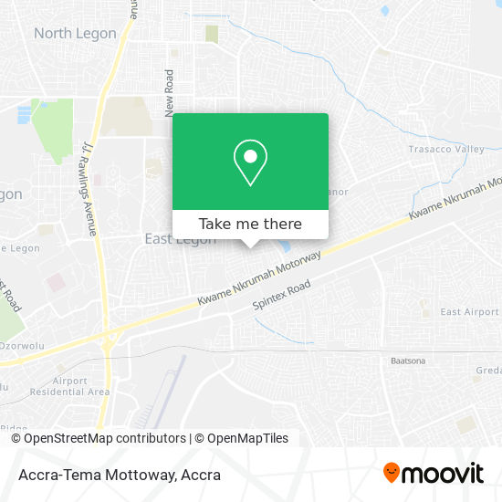 Accra-Tema Mottoway map