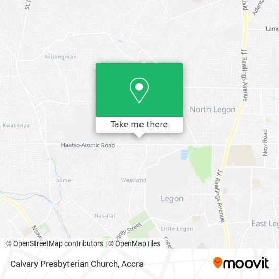 Calvary Presbyterian Church map