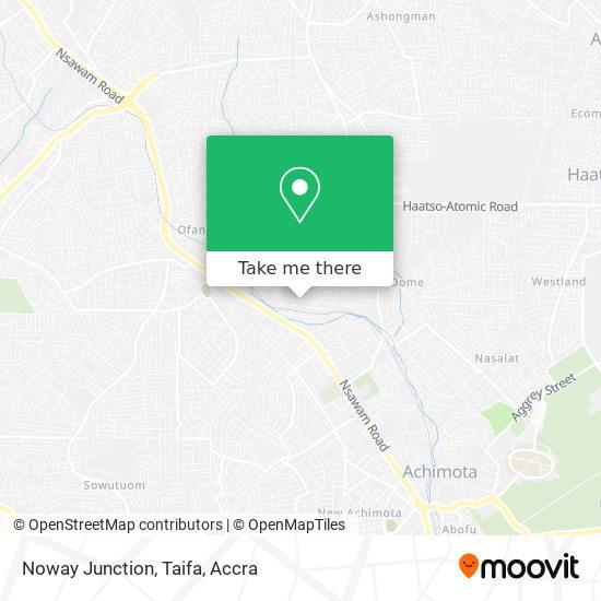 Noway Junction, Taifa map