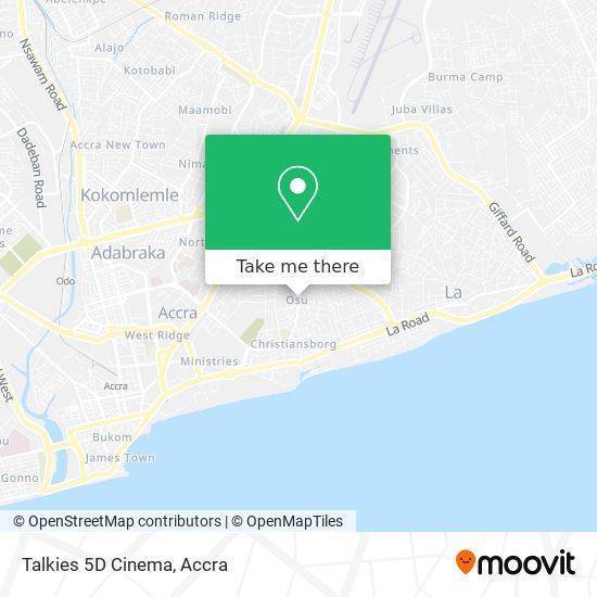Talkies 5D Cinema map