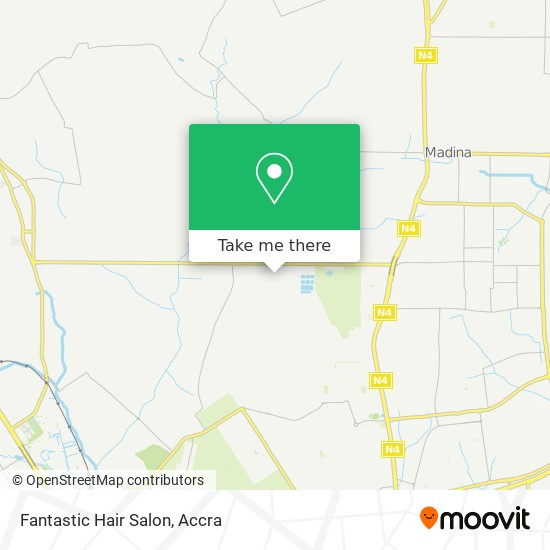 Fantastic Hair Salon map