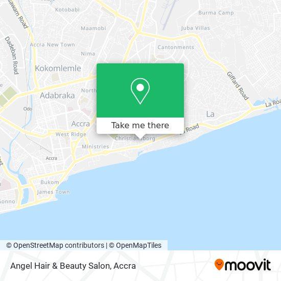 Angel Hair & Beauty Salon map