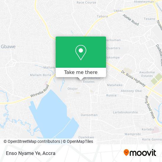 Enso Nyame Ye map