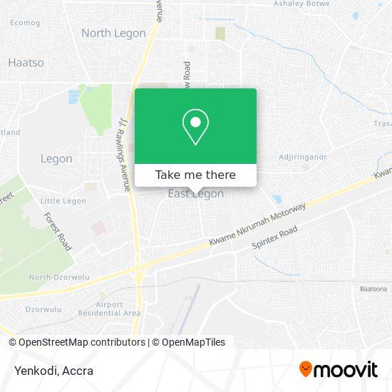 Yenkodi map