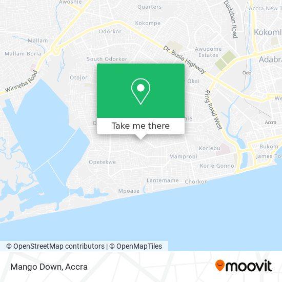 Mango Down map