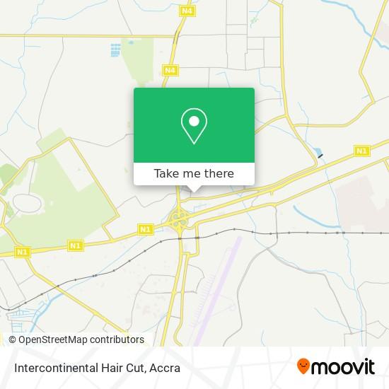 Intercontinental Hair Cut map