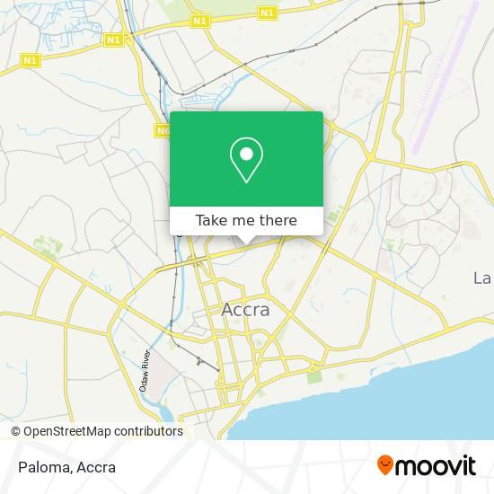 Paloma map