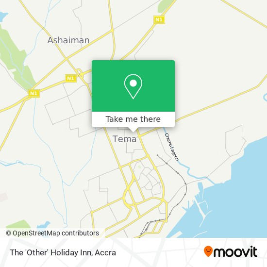 The 'Other' Holiday Inn map