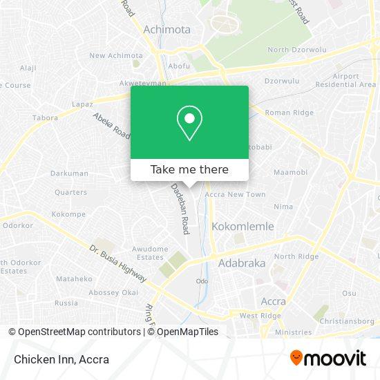 Chicken Inn map